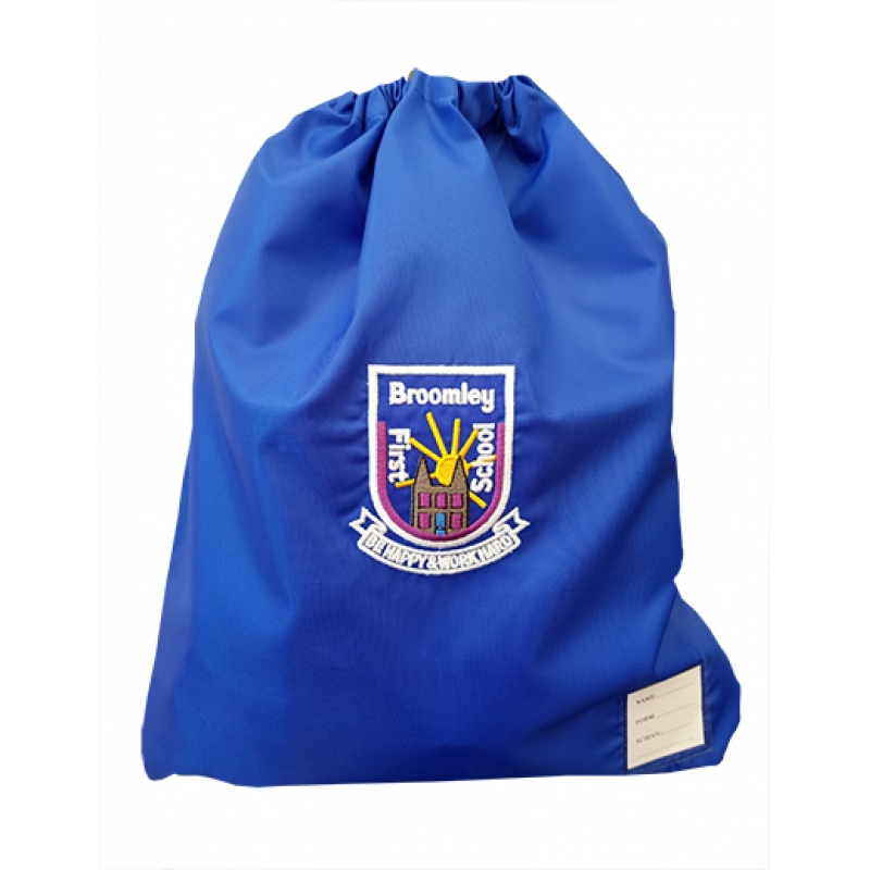 Broomley First School PE Bag
