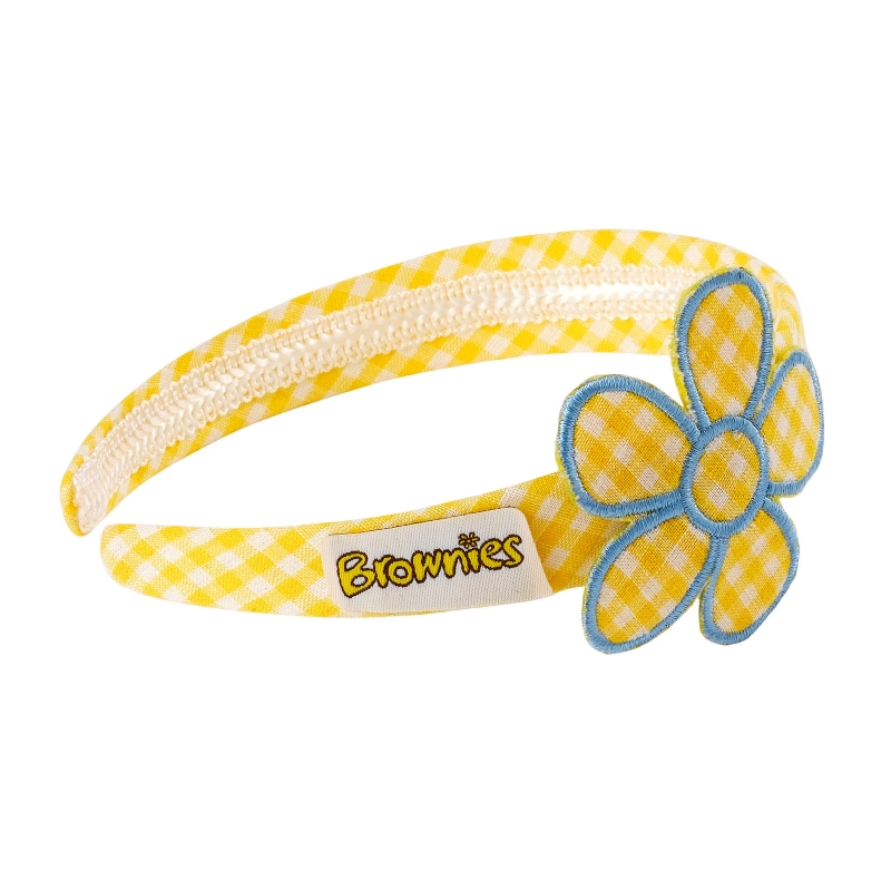 Brownie Flower Hairband