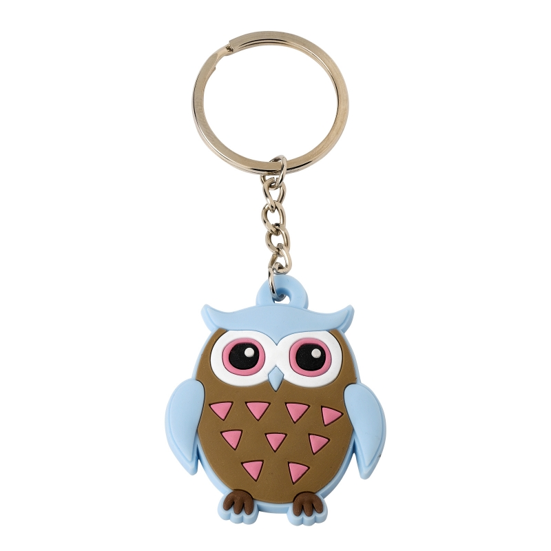 Brownie Owl Keyring