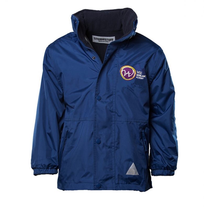 Wise Adderlane Academy Unisex Reversible Waterproof Jacket