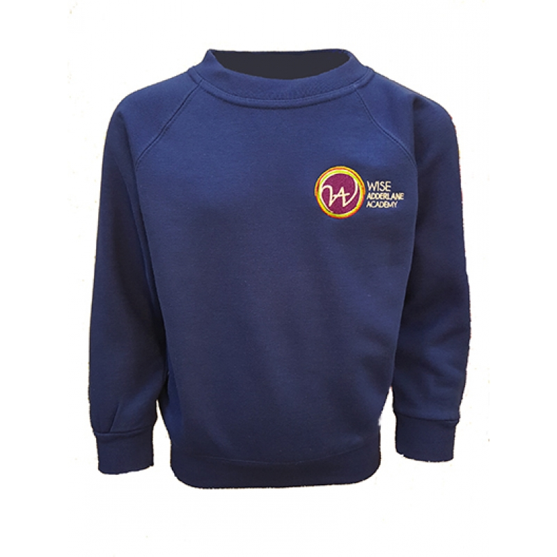 WISE ADDERLANE ACADEMY Sweatshirt - Royal Blue