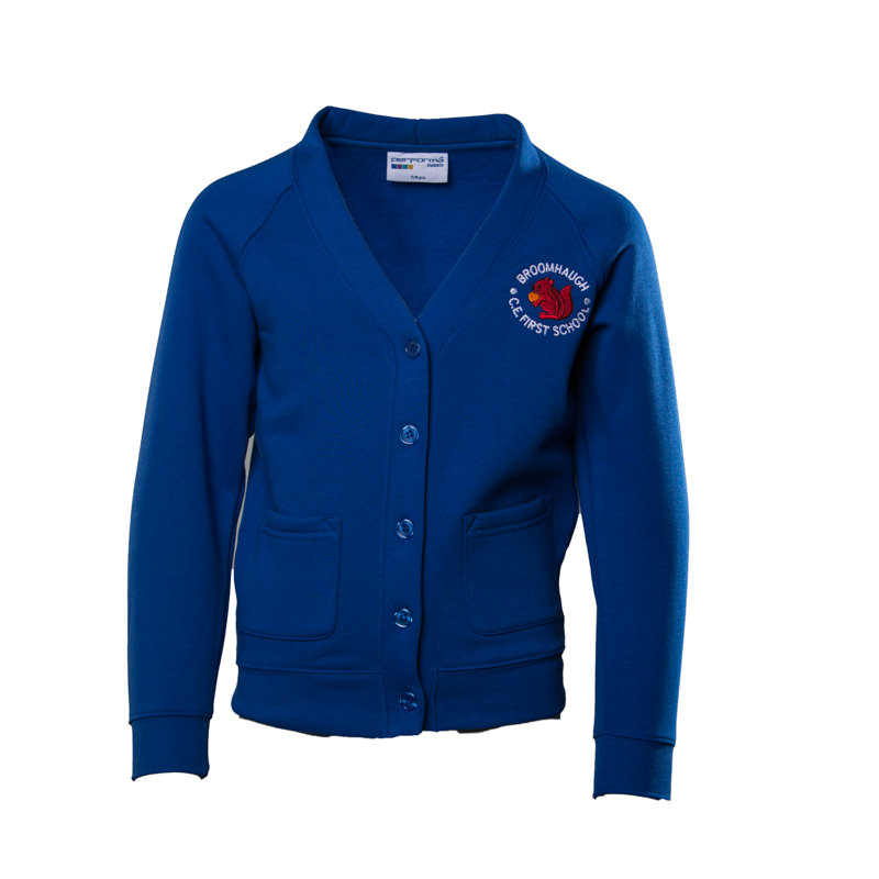 Broomhaugh C of E First School Cardigan