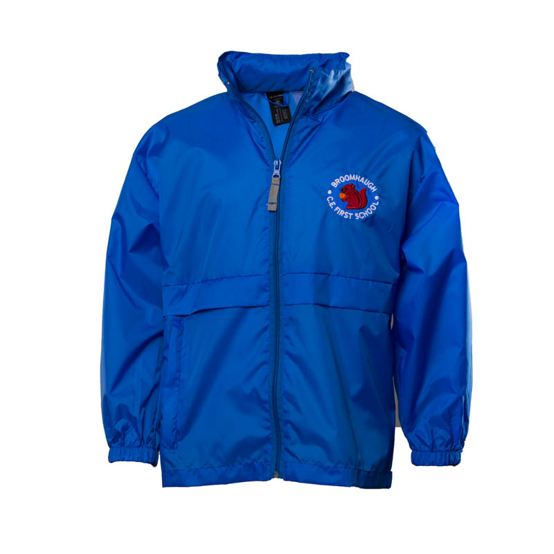Broomhaugh C of E First School Unisex Showerproof Jacket