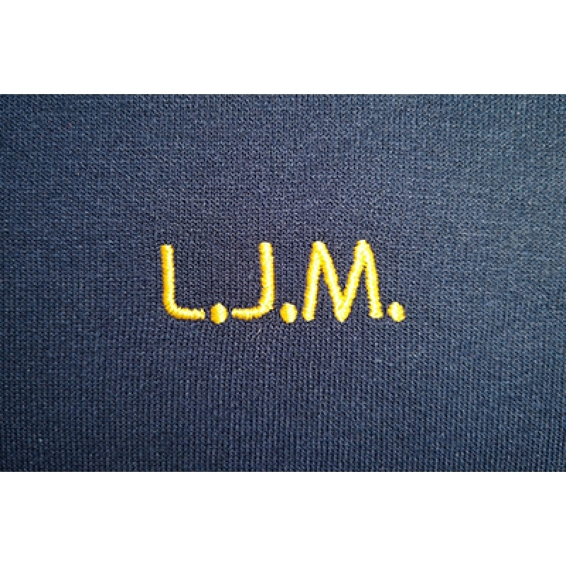 St. Matthew's embroidered initials