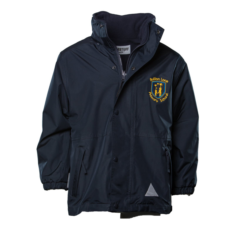 Bullion Lane Primary School Unisex Reversible Waterproof Jacket