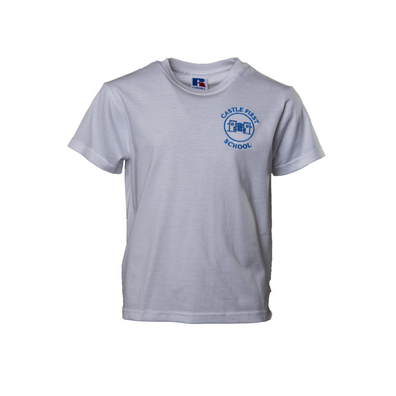 Prudhoe Castle First School PE T shirt