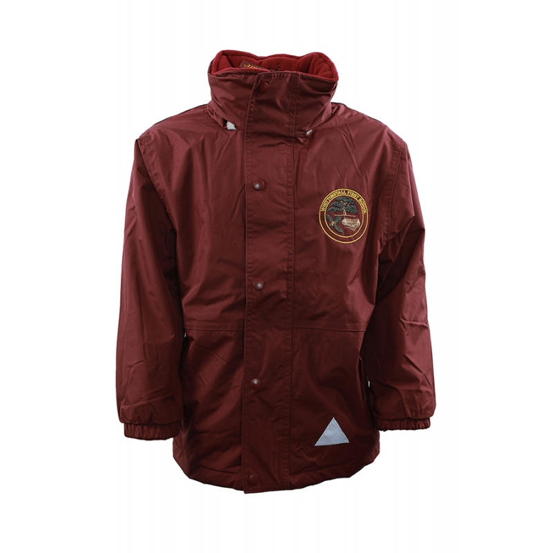 Whittonstall First School Winter Waterproof Coat