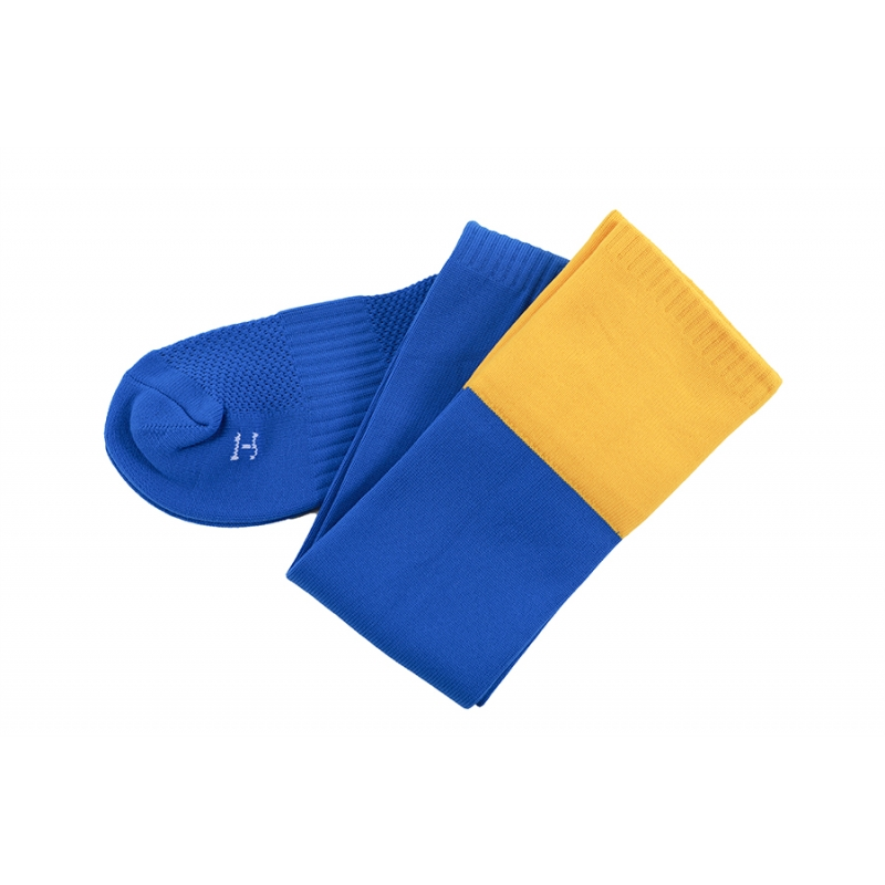 Highfield Middle School PE Socks Royal Amber