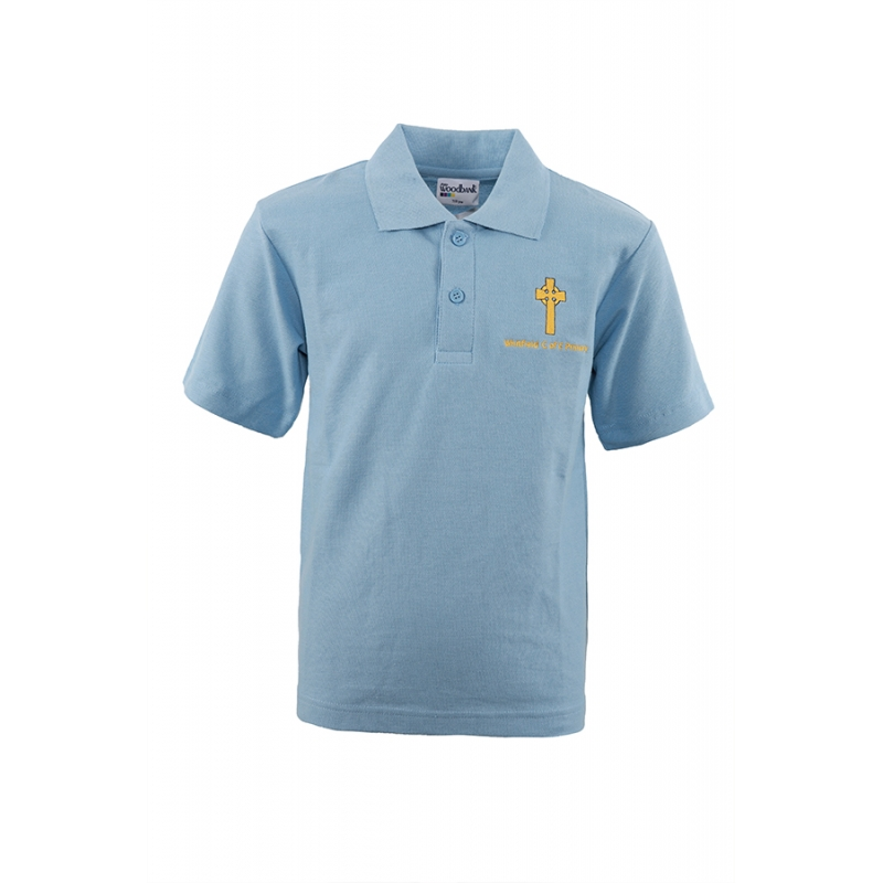 Whitfield C of E Primary School Sky Polo Shirt