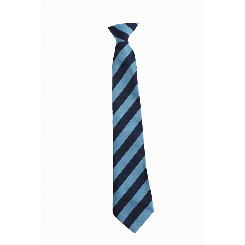 St Mary's  R.C. First School Navy/Sky Clip On Tie