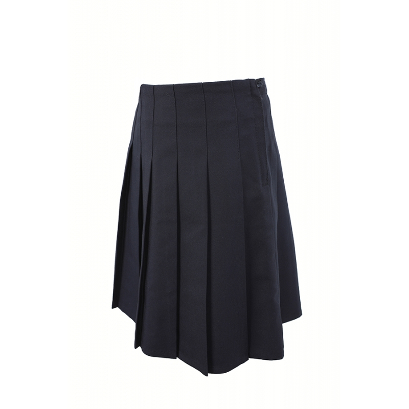 Senior Girls Stitch Down Pleat Skirt