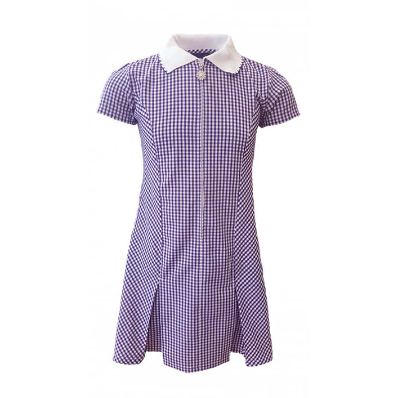Emmaville Purple Sundress with hair scrunchie