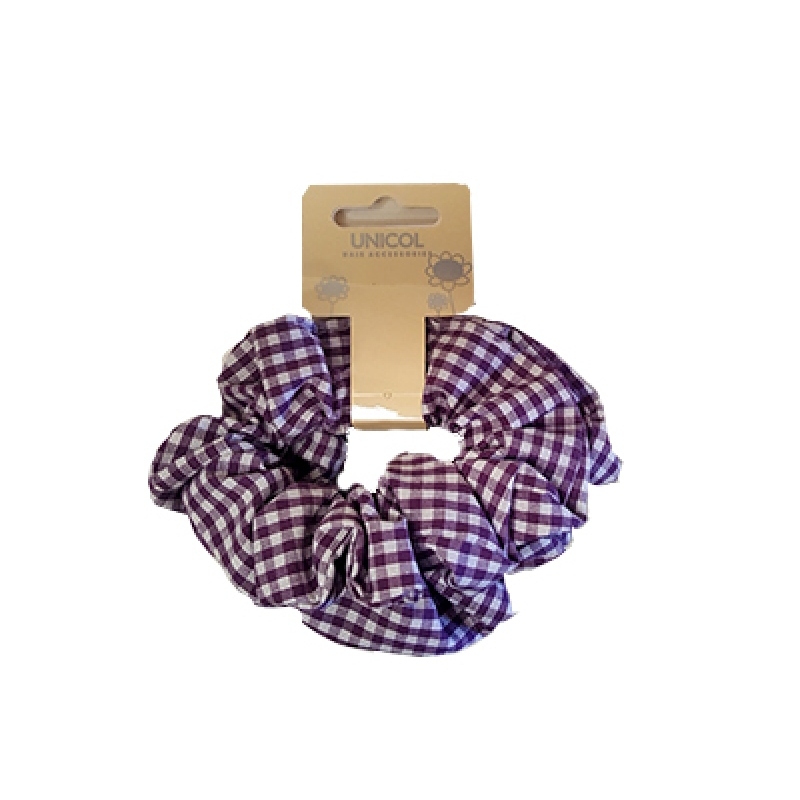 Emmaville Gingham Hair Scrunchie