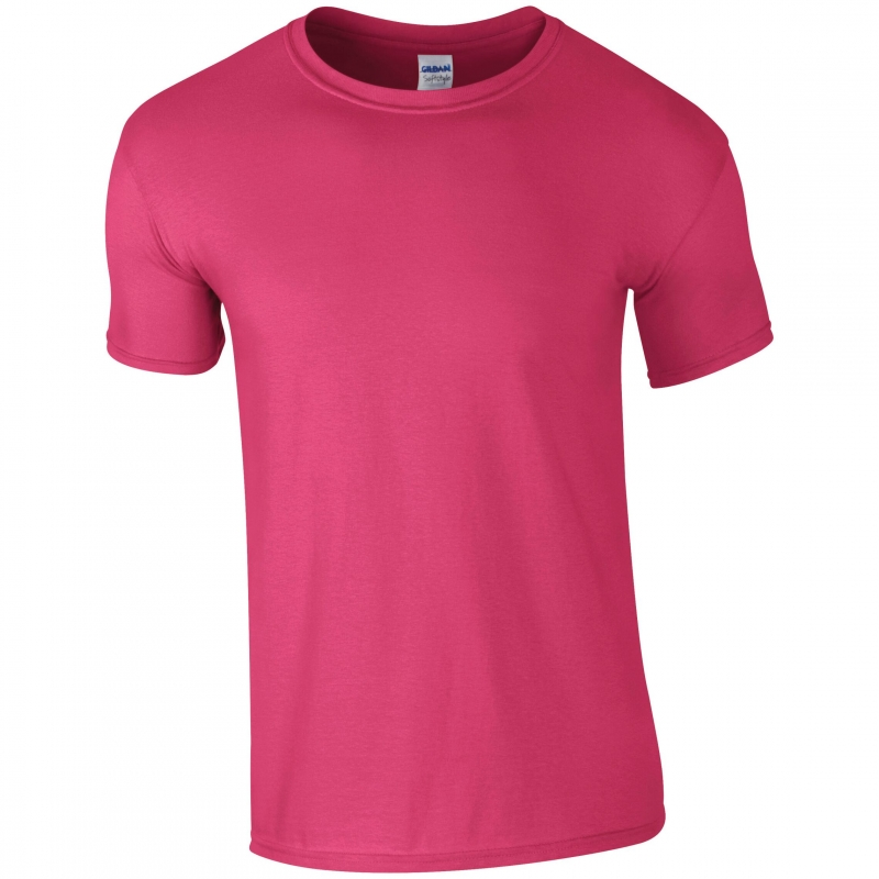 Fern Hollow Curvy T shirt - pink