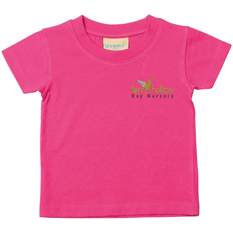 Fern Hollow Kid's T shirt -      Pink