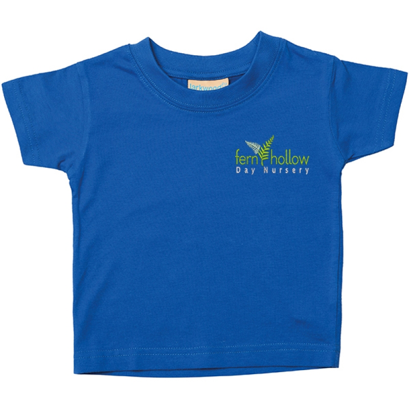Fern Hollow Kid's T shirt - Royal