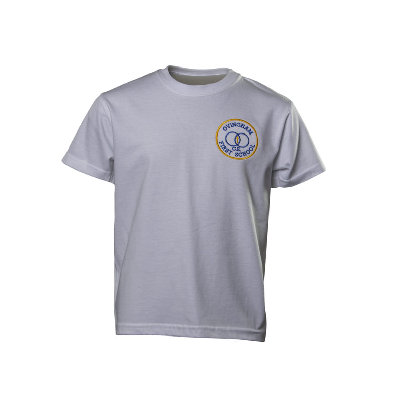 Ovingham C of E First School PE T shirt
