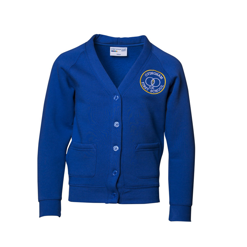 Ovingham C of E First School Cardigan
