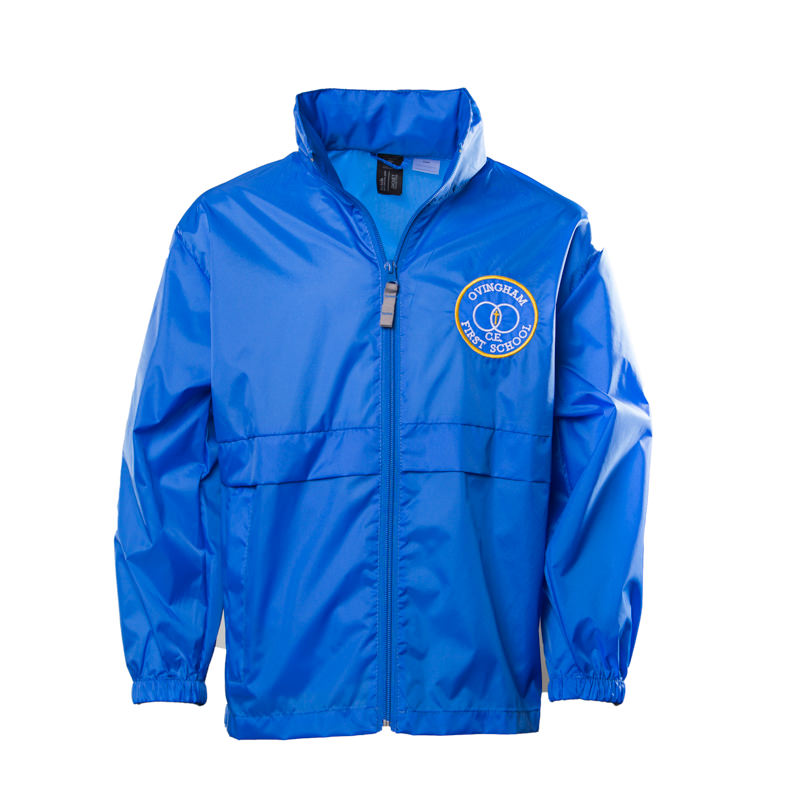 Ovingham C of E First School Unisex Showerproof Jacket