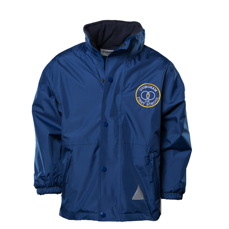 Ovingham C of E First School Unisex Reversible Waterproof Coat