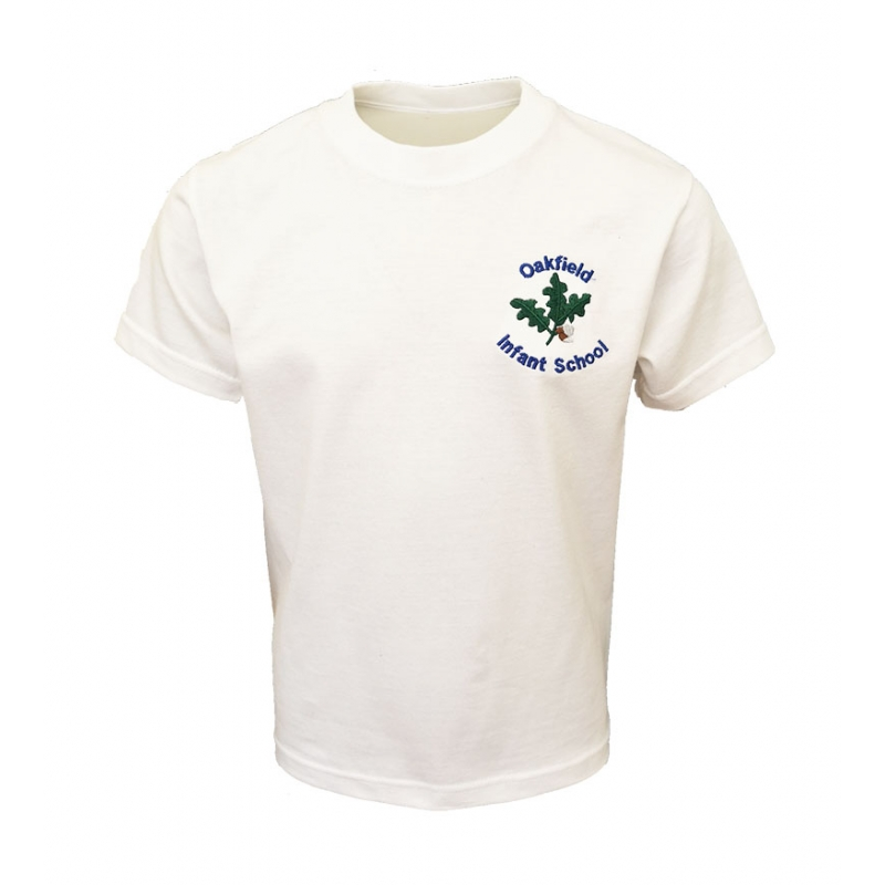 Oakfield Infants School PE T shirt