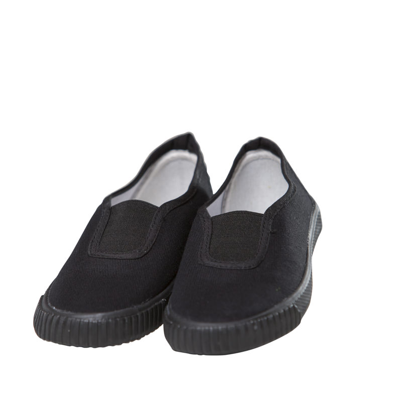 St Matthew's Elasticated Plimsoles