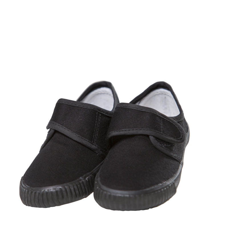 Wise Prudhoe West Academy Velcro Plimsoles
