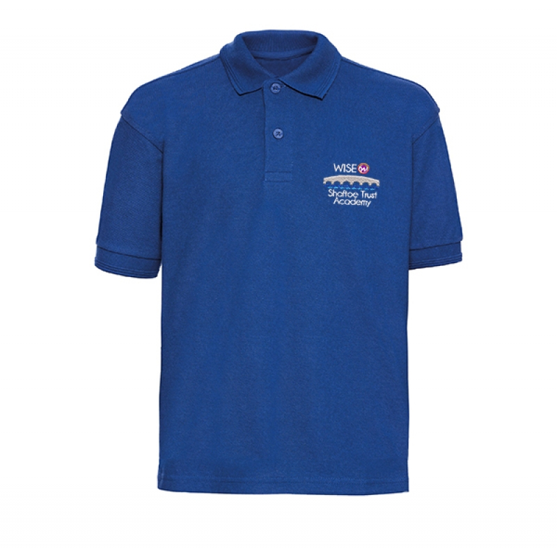 Wise Shaftoe Academy Polo Shirt Royal