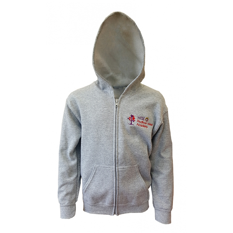Wise Prudhoe West Academy PE Zipped Hoodie