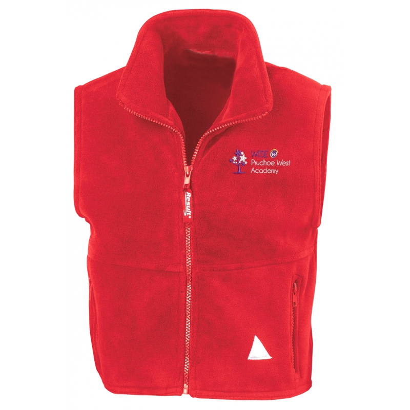 Wise Prudhoe West Fleece Bodywarmer