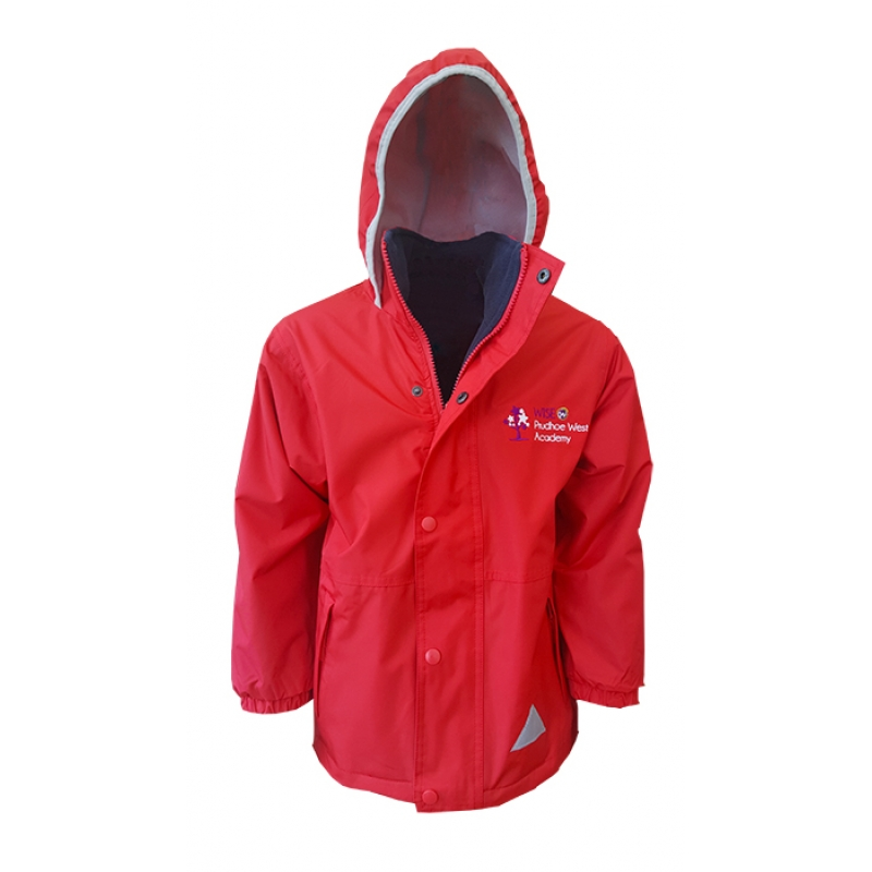 Wise Prudhoe West Academy Reversible Waterproof Coat