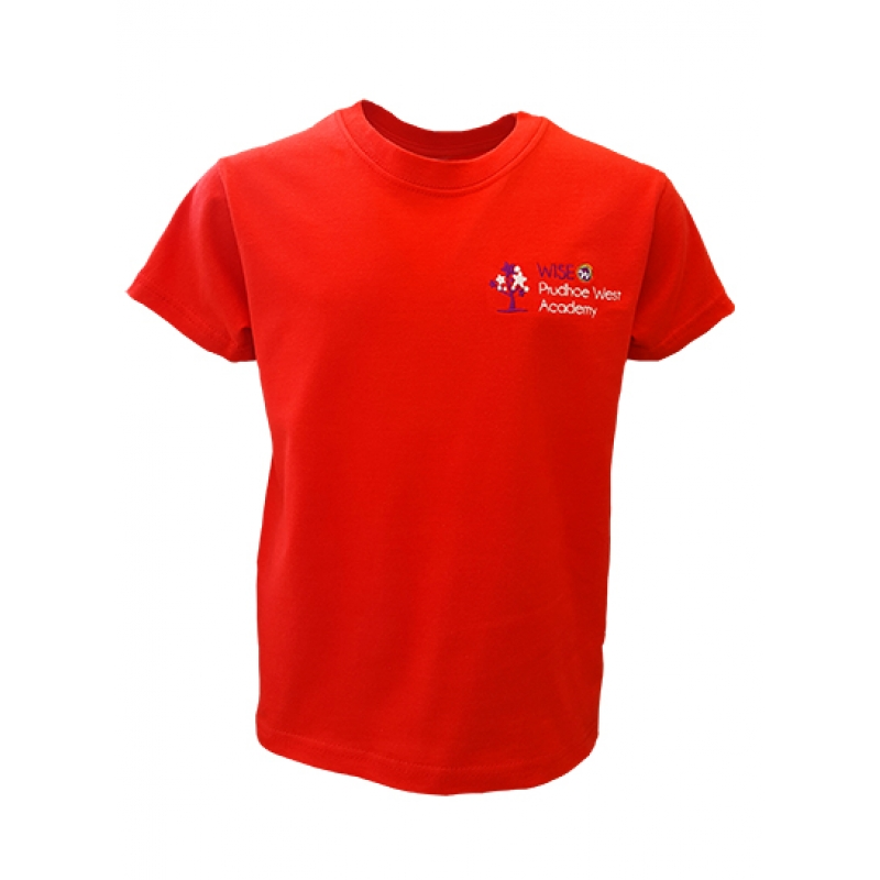 Wise Prudhoe West Academy PE T shirt