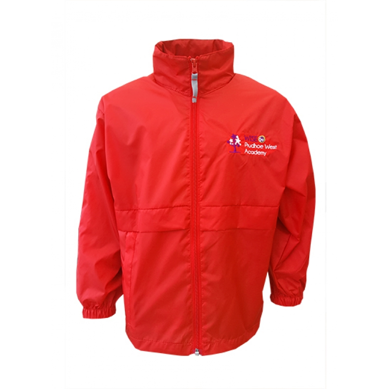 Wise Prudhoe West Academy Showerproof Jacket