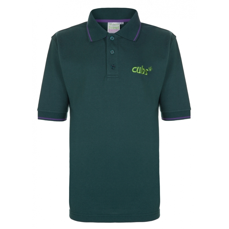 Cubs Tipped Polo