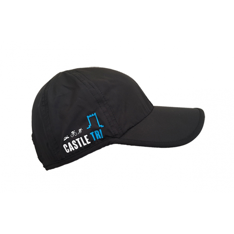 Castle Tri Running Cap - Black