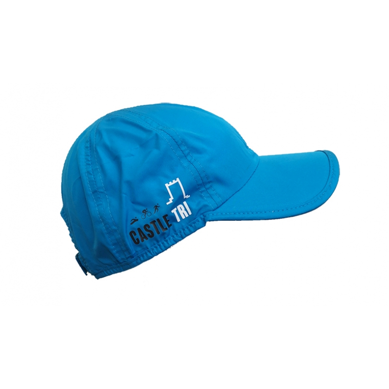 Castle Tri Running Cap - Blue