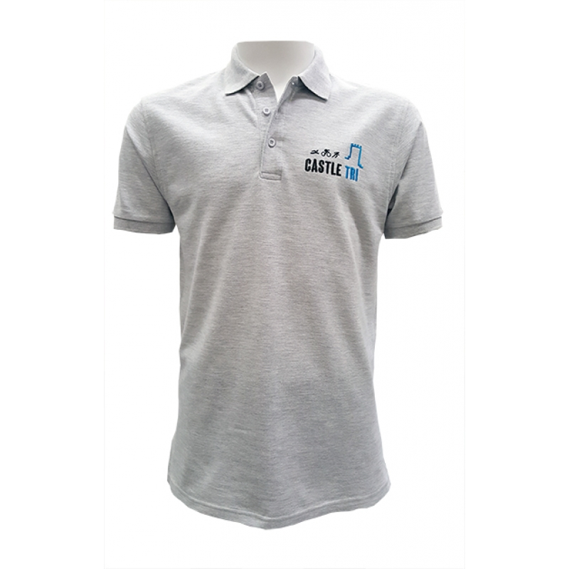 Castle Tri Unisex Polo Shirt