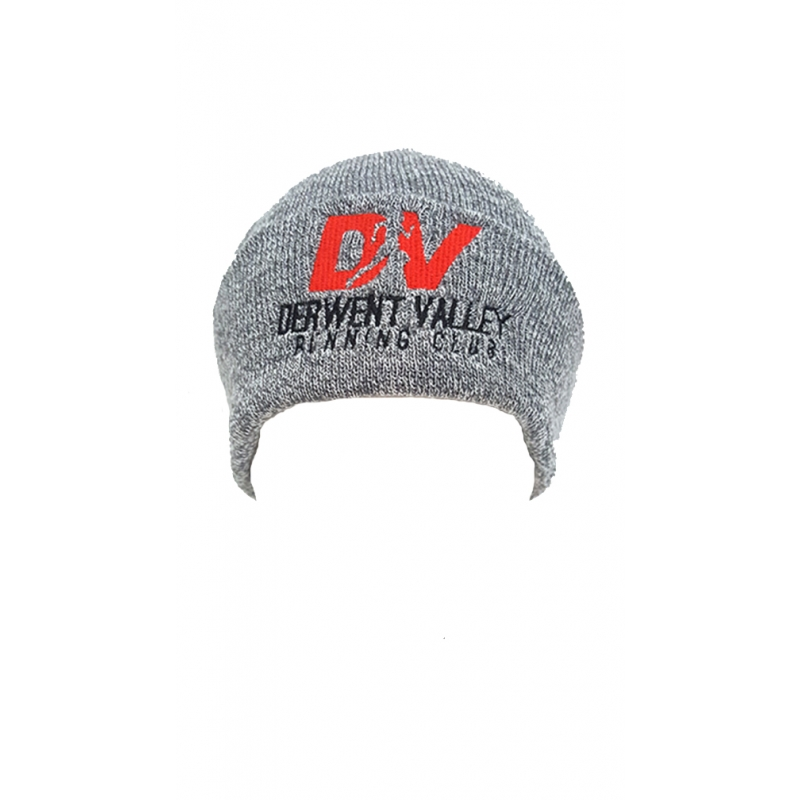 Derwent Valley Knitted Hat - Grey