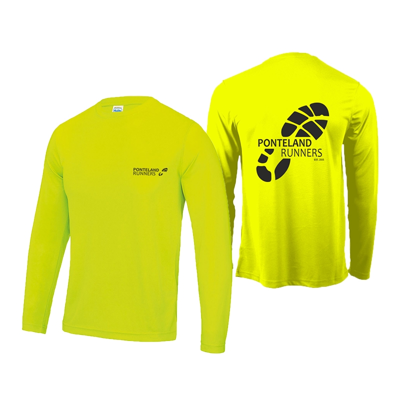 Ponteland Runners Club L/S Tech Tee