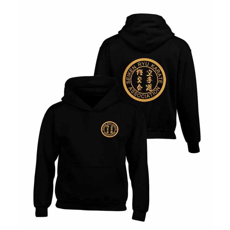 Seiken Ryu Kids' Hoodie with rear logo
