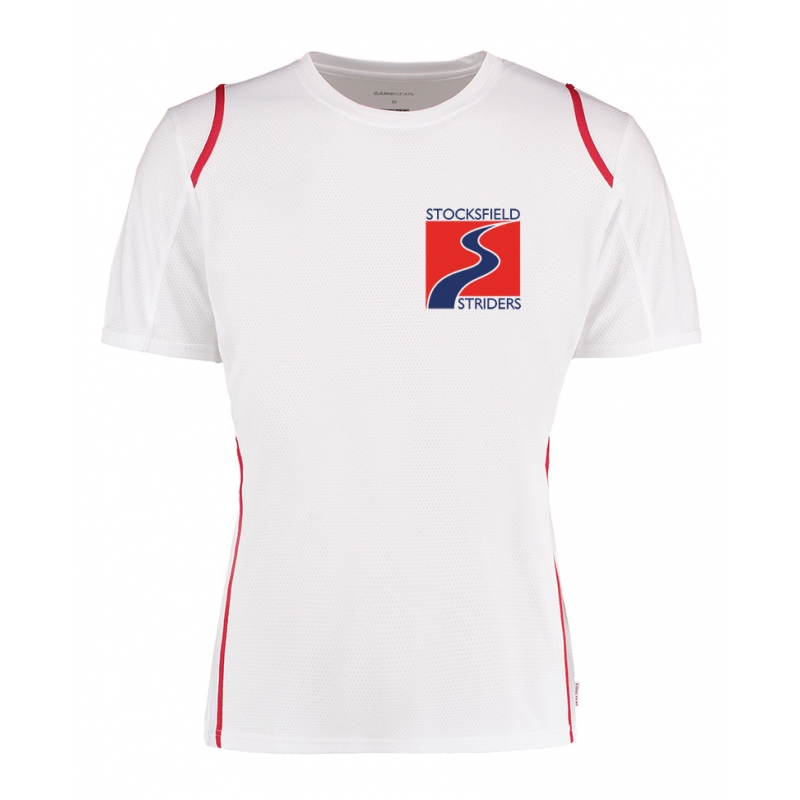Stocksfield Striders White T-shirt