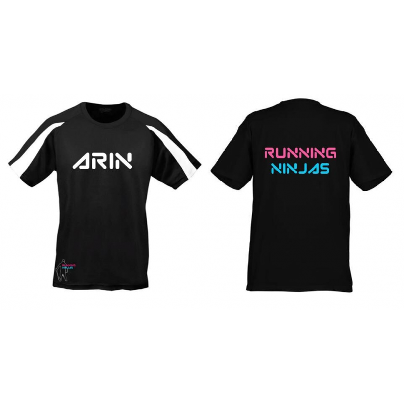 Running Ninjas Contrast Tech T-shirt